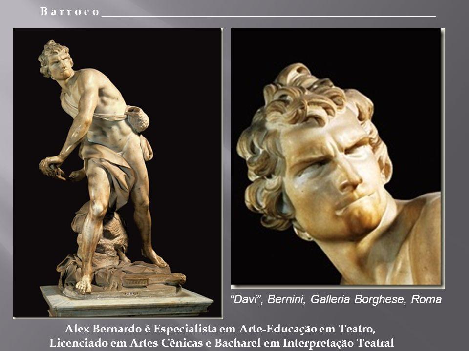 Davi , Bernini, Galleria Borghese, Roma