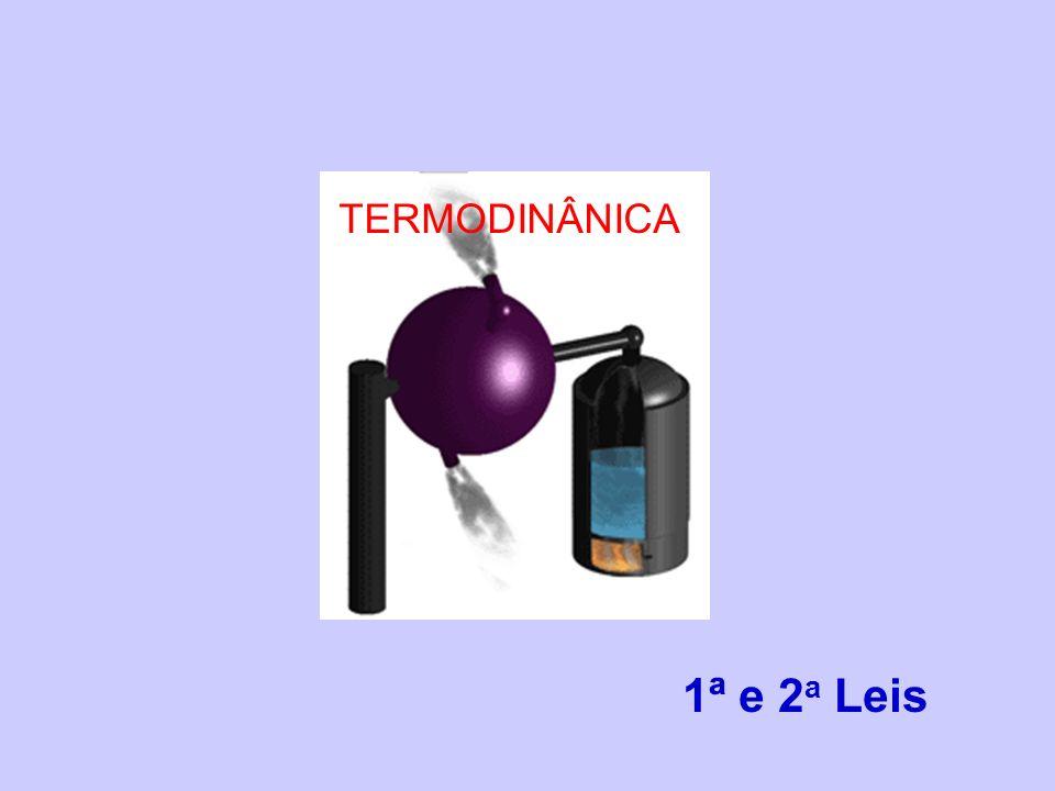 TERMODINÂNICA 1ª e 2a Leis