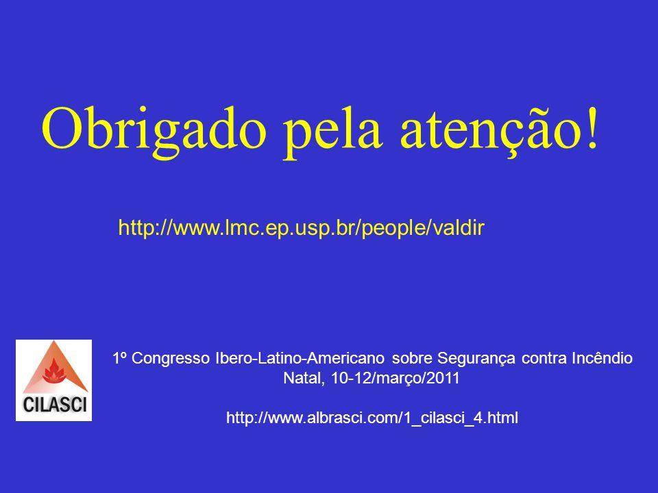 1º Congresso Ibero-Latino-Americano sobre Segurança contra Incêndio
