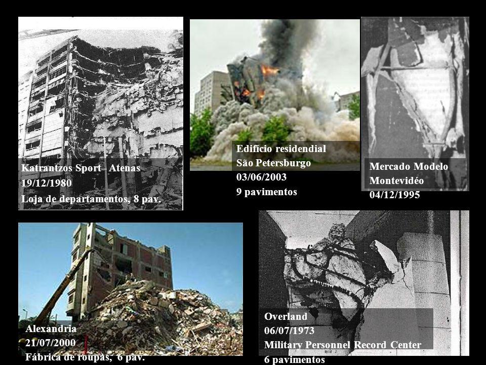 Edifício residendial São Petersburgo. 03/06/2003. 9 pavimentos. Katrantzos Sport– Atenas. 19/12/1980.