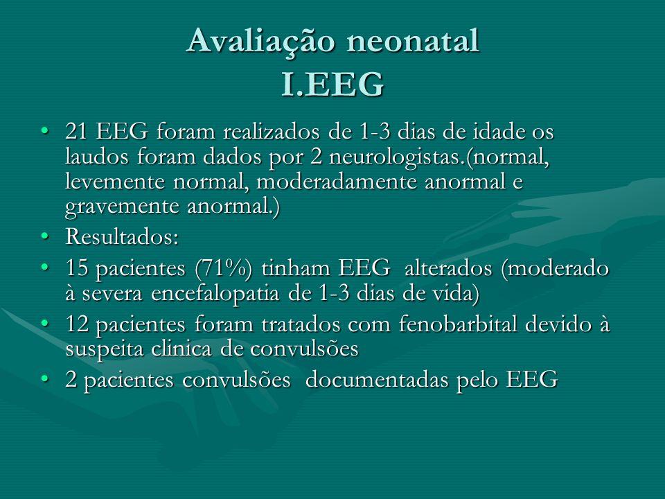 Avaliação neonatal I.EEG