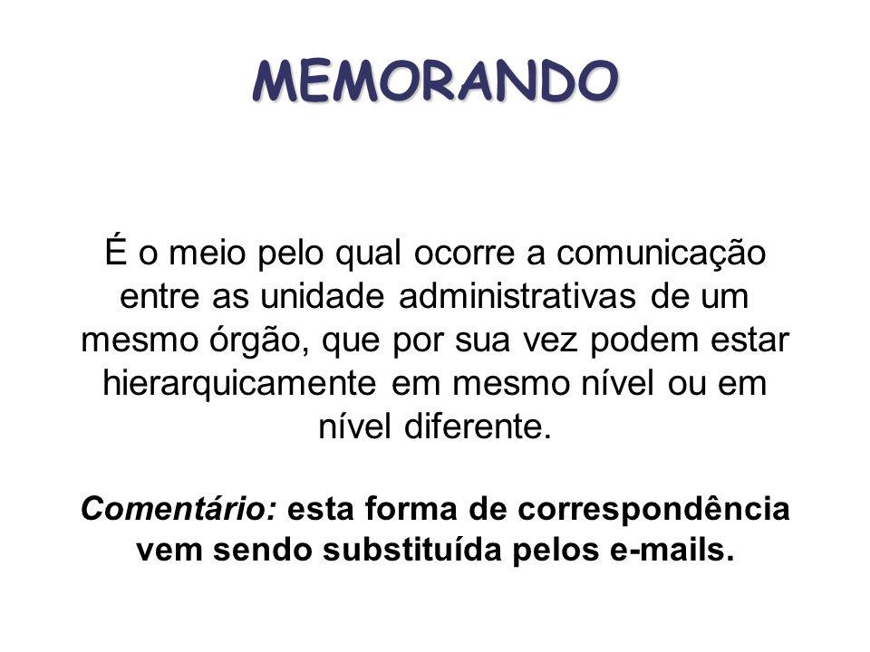 MEMORANDO