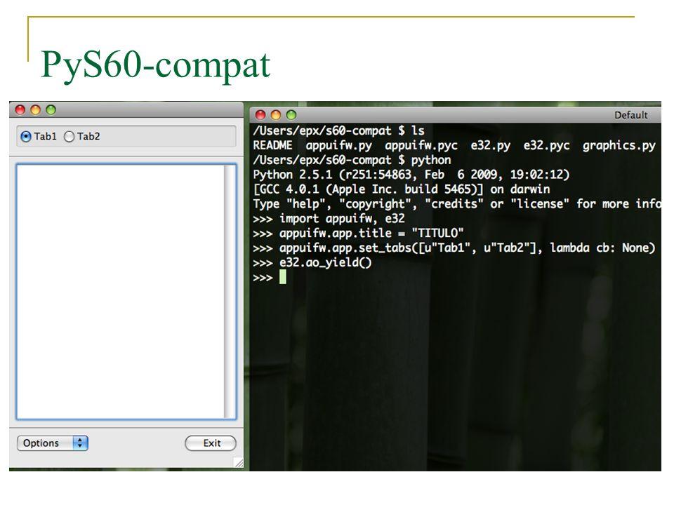 PyS60-compat