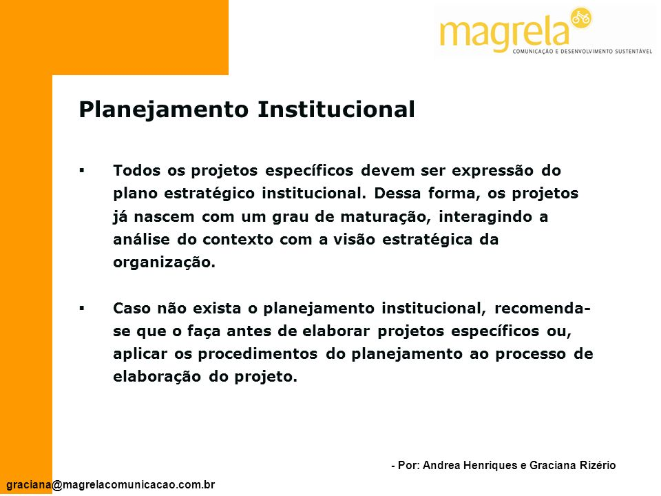 Planejamento Institucional