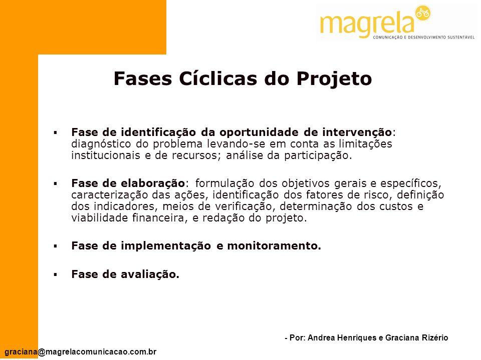 Fases Cíclicas do Projeto