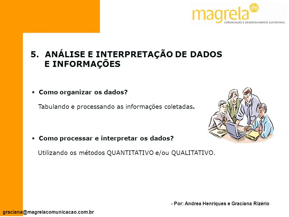 ANÁLISE E INTERPRETAÇÃO DE DADOS E INFORMAÇÕES