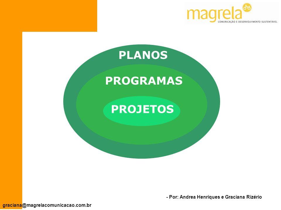 PLANOS PROGRAMAS PROJETOS
