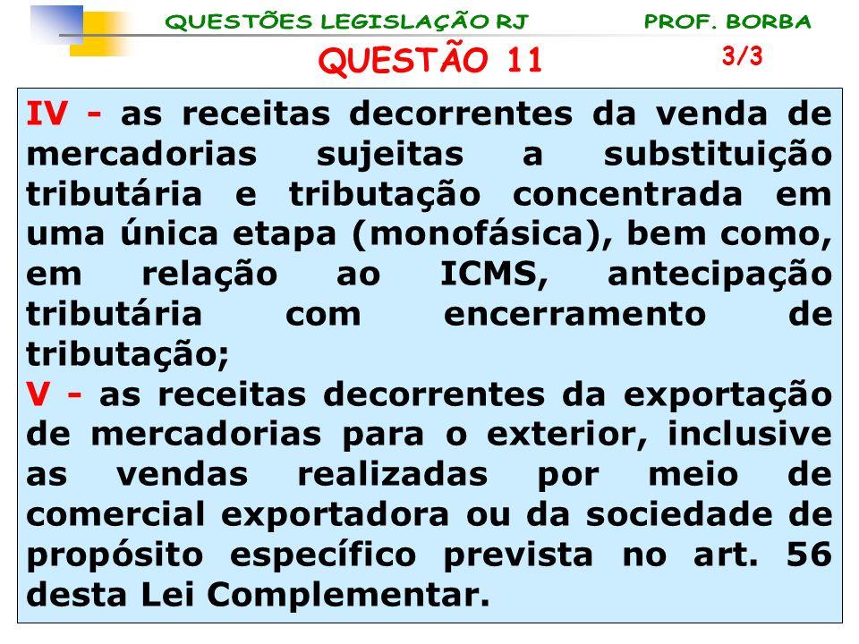 QUESTÃO 11 3/3.