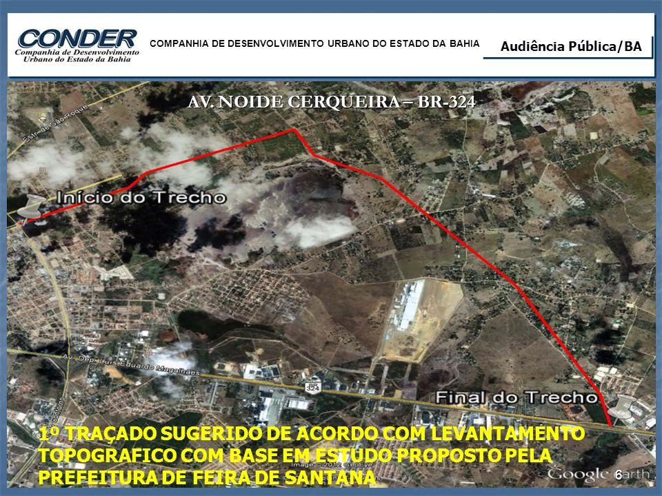 AV. NOIDE CERQUEIRA – BR-324