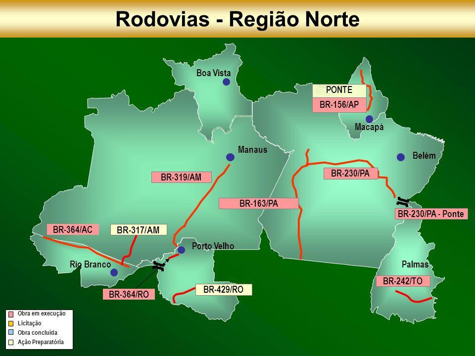 Rodovias - Região Norte