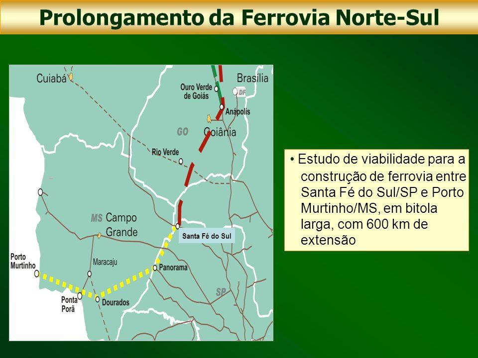 Prolongamento da Ferrovia Norte-Sul