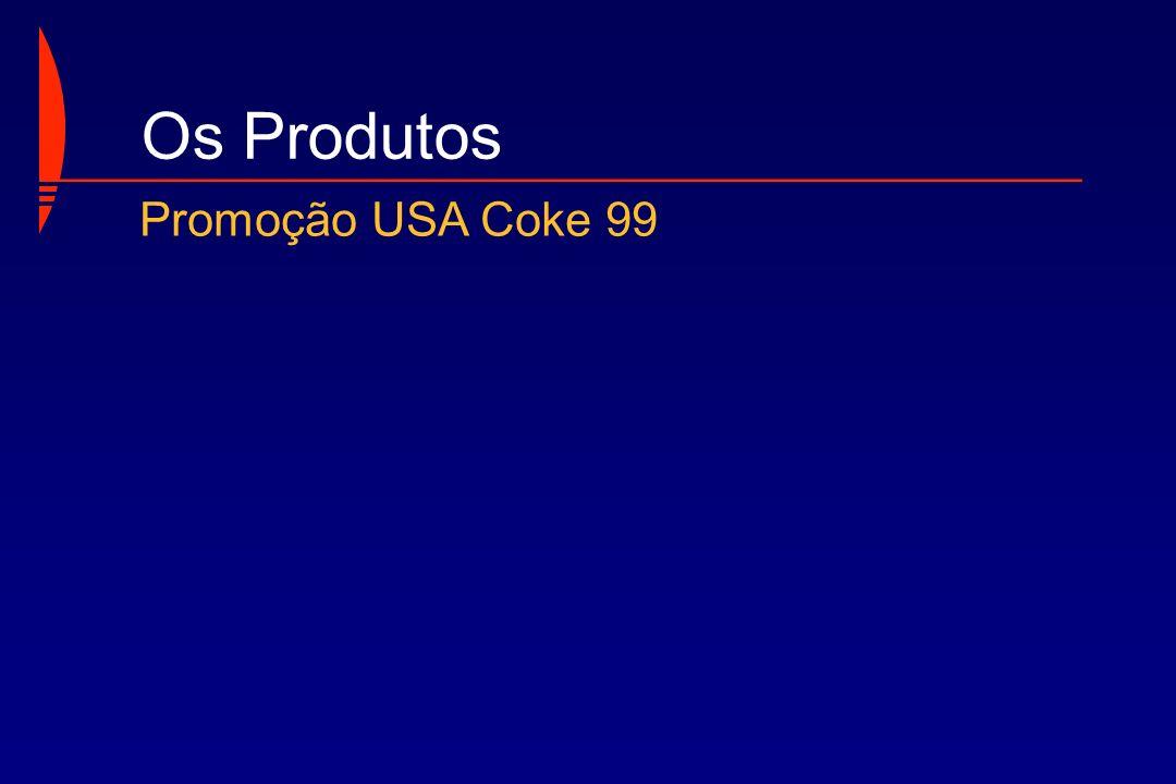 Os Produtos Promoção USA Coke 99