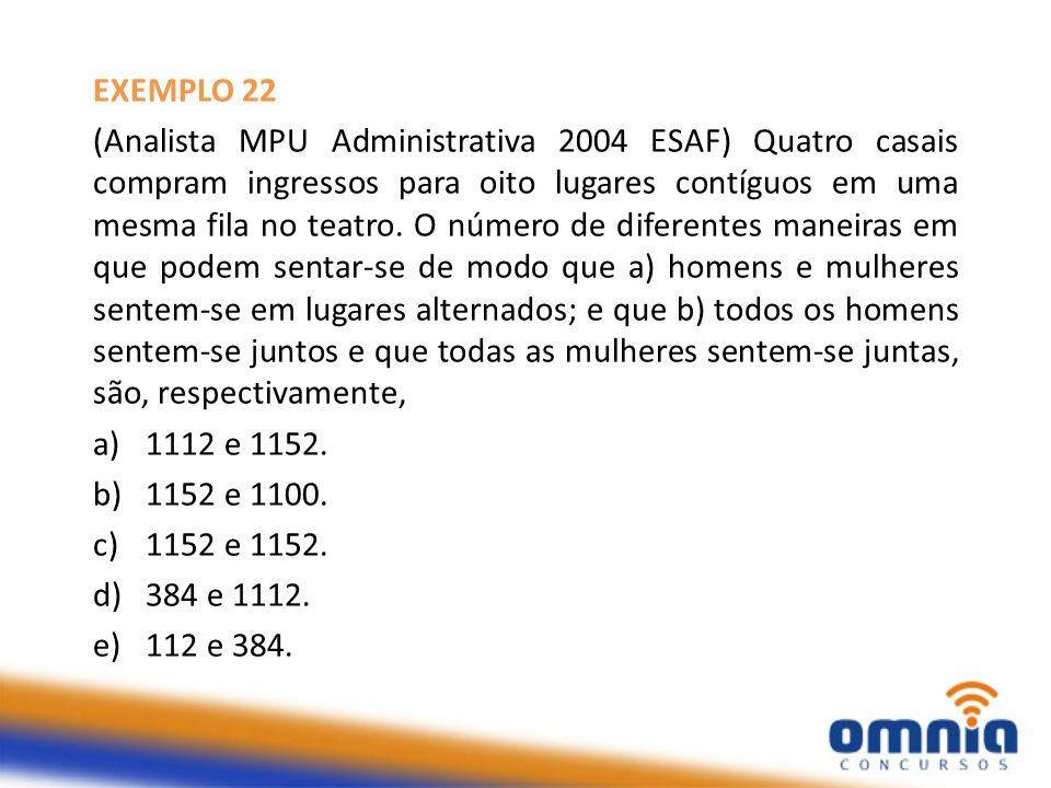 EXEMPLO 22