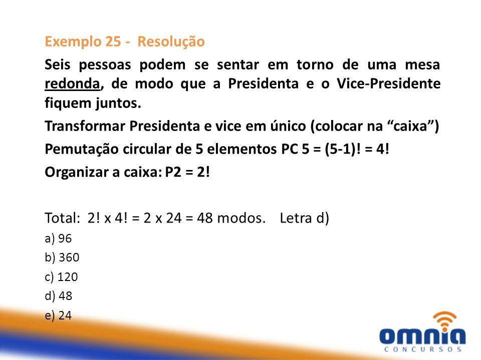 Transformar Presidenta e vice em único (colocar na caixa )