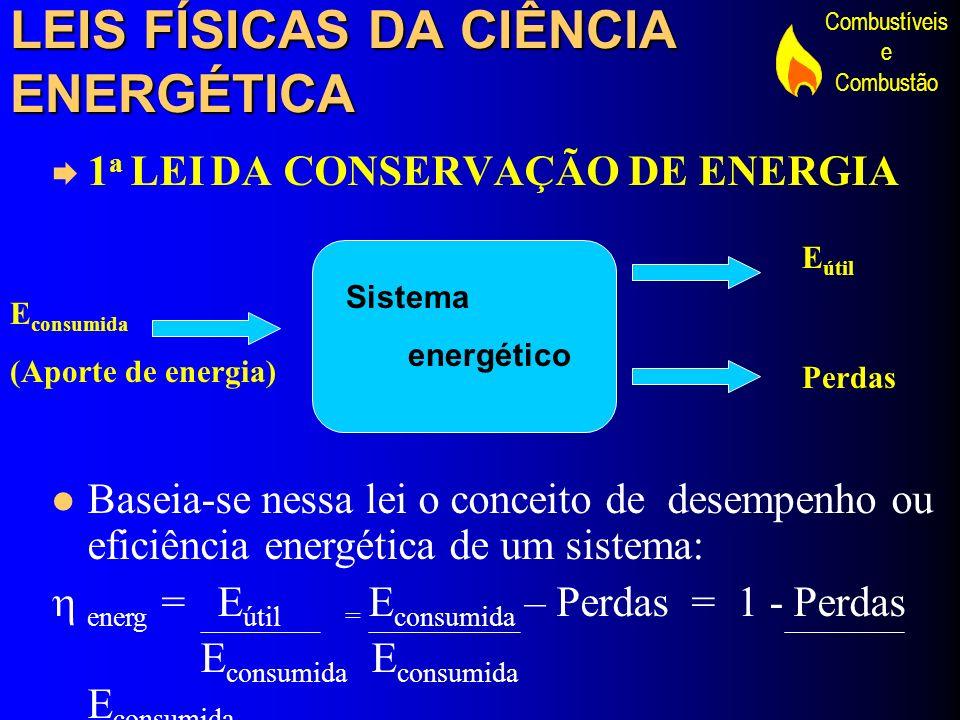 LEIS FÍSICAS DA CIÊNCIA ENERGÉTICA