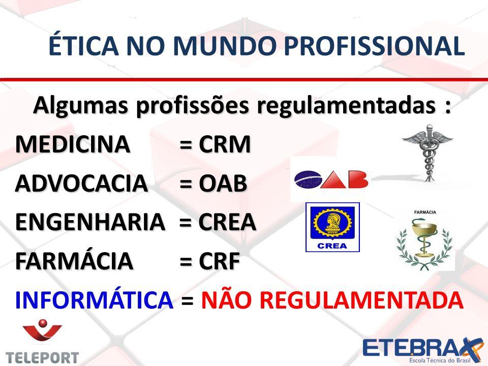 ética No mundo profissional