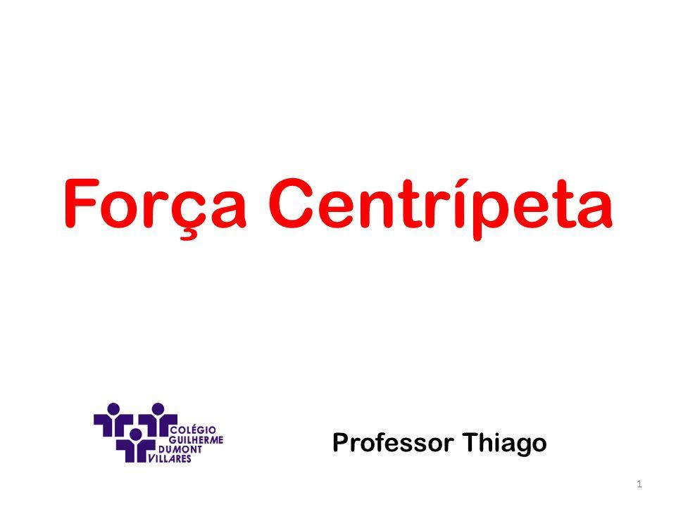 Força Centrípeta Professor Thiago