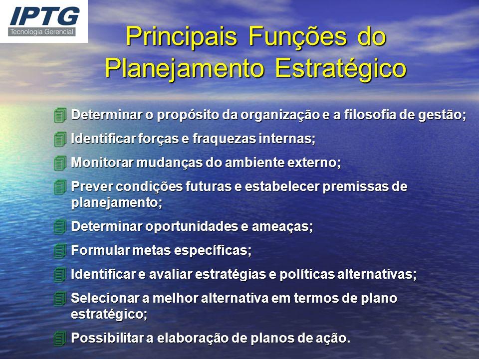 Principais Funções do Planejamento Estratégico