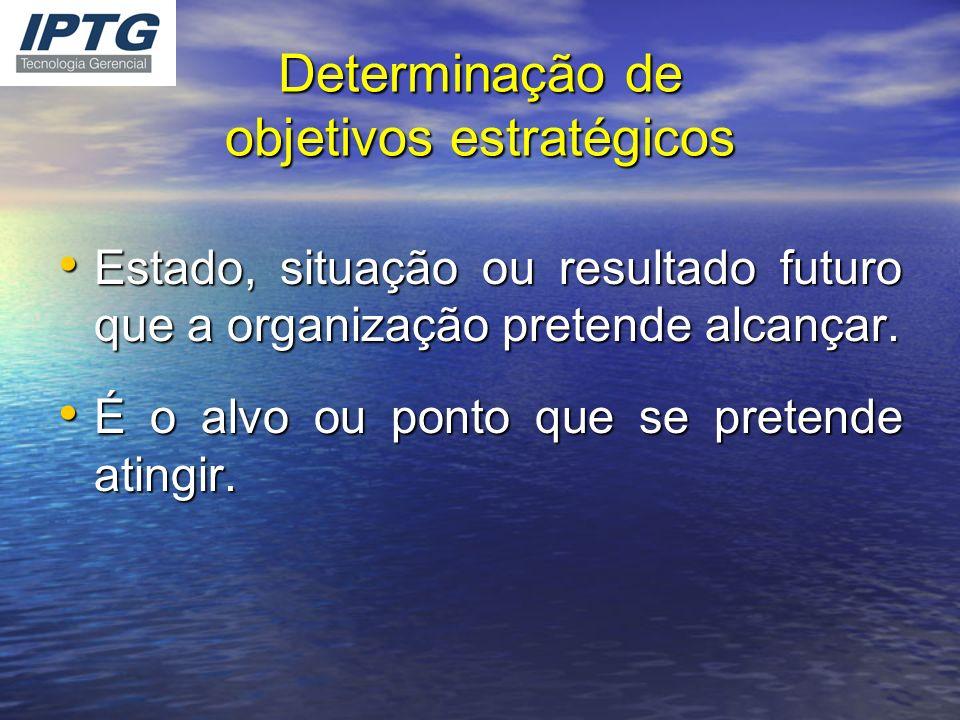 Determinação de objetivos estratégicos