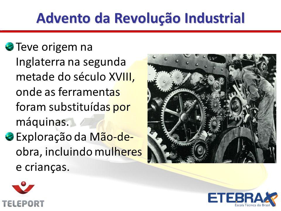 Advento da Revolução Industrial