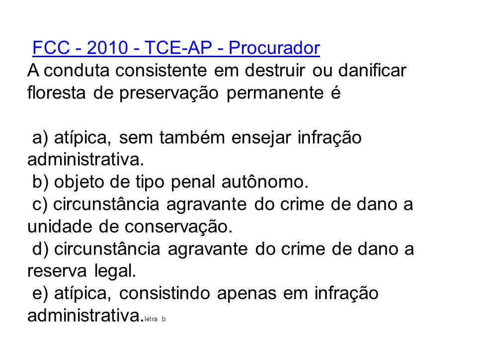 FCC - 2010 - TCE-AP - Procurador