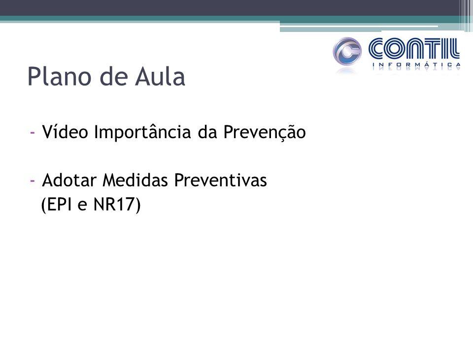 Plano de Aula Vídeo Importância da Prevenção