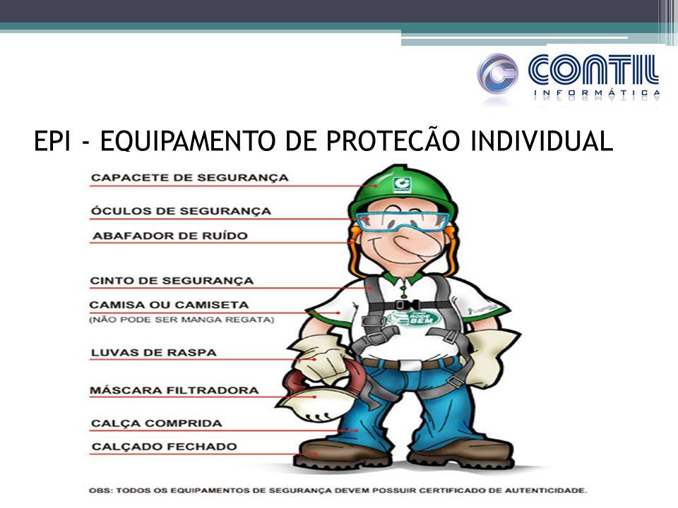 EPI - EQUIPAMENTO DE PROTEÇÃO INDIVIDUAL