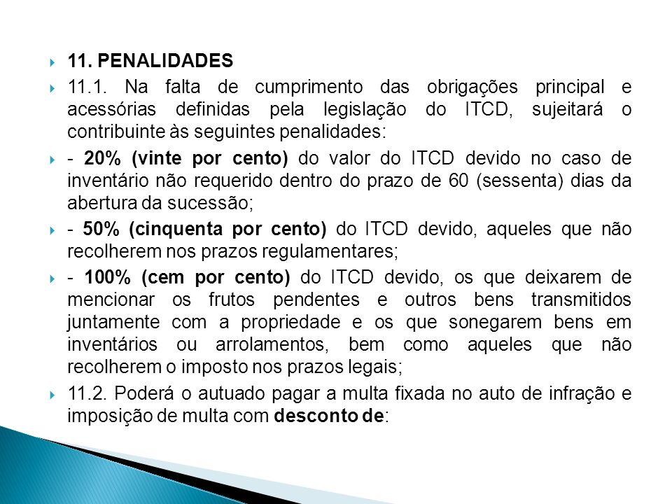 11. PENALIDADES