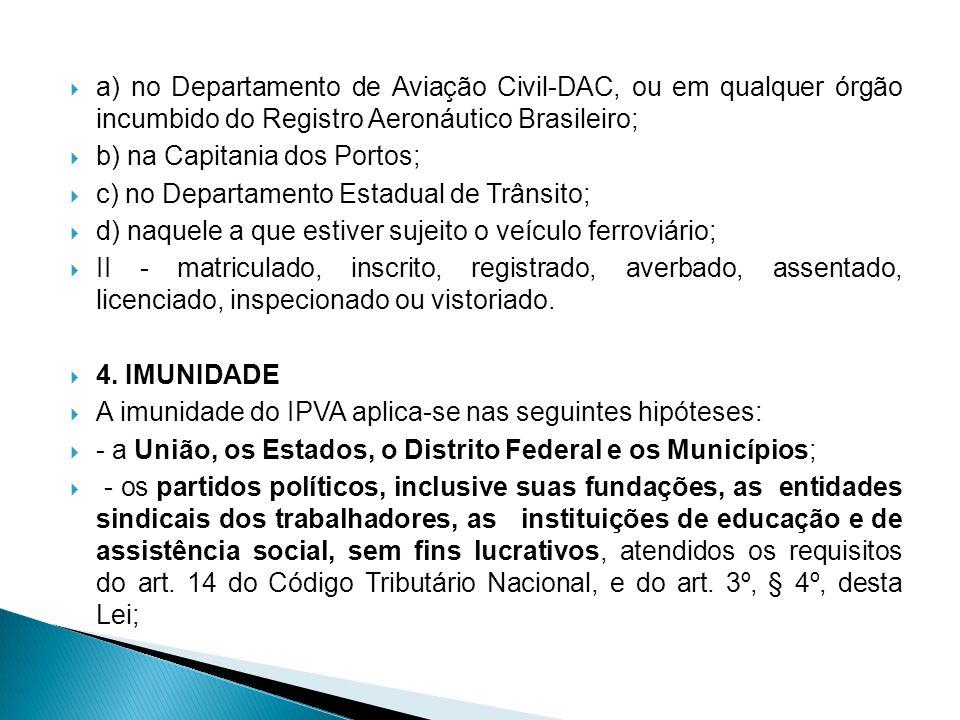 a) no Departamento de Aviação Civil-DAC, ou em qualquer órgão incumbido do Registro Aeronáutico Brasileiro;