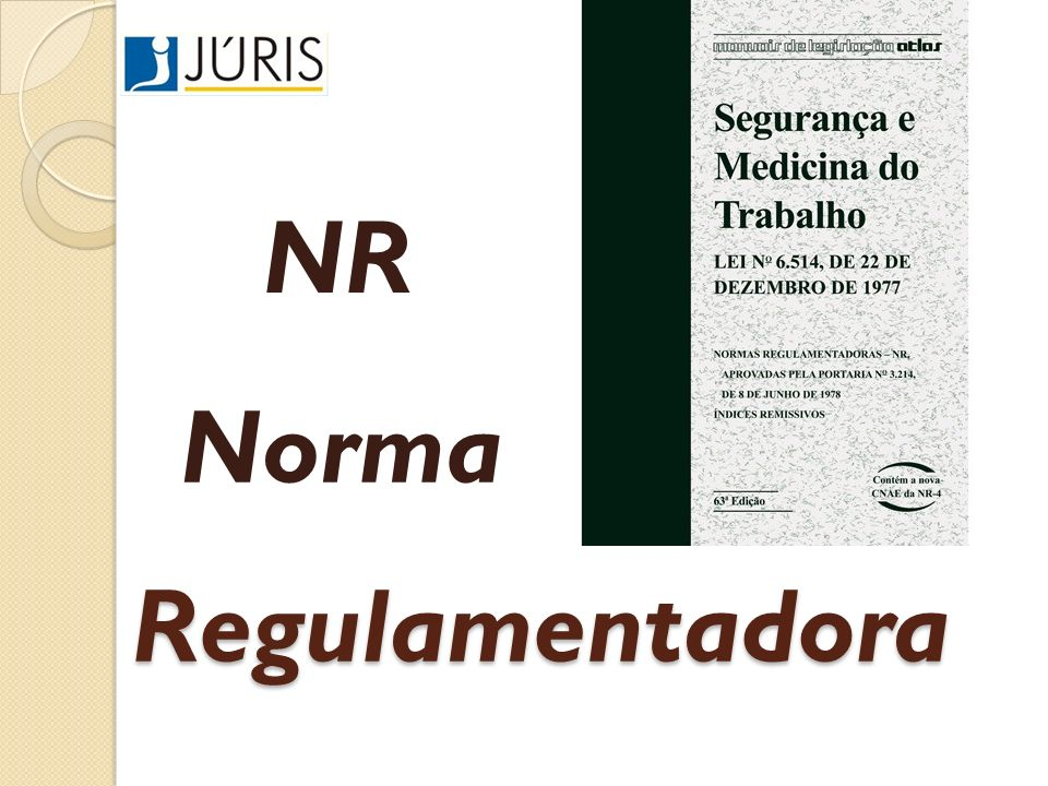 NR Norma Regulamentadora