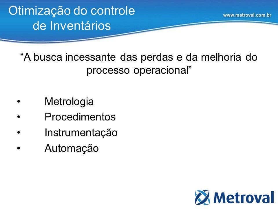 Otimização do controle de Inventários