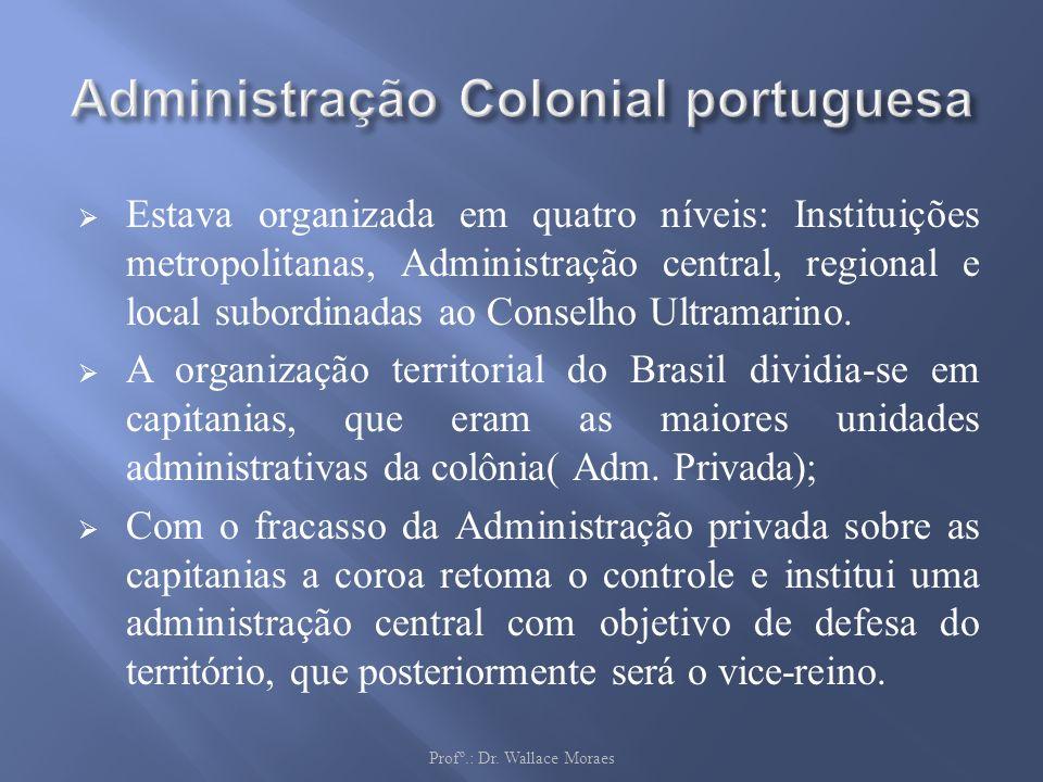 Administração Colonial portuguesa