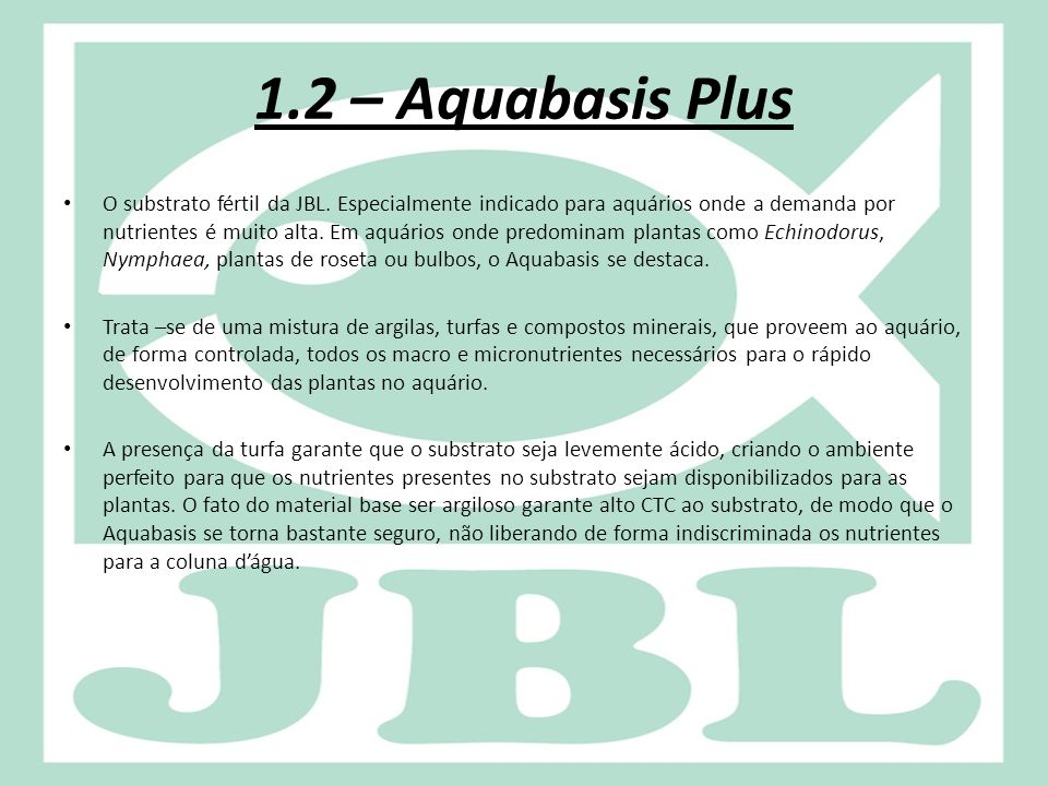1.2 – Aquabasis Plus
