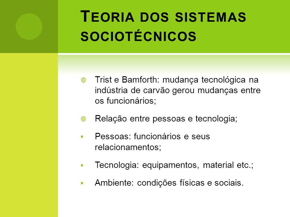 Teoria dos sistemas sociotécnicos