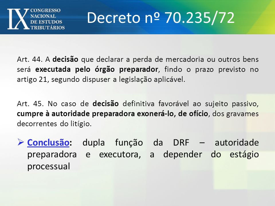 Decreto nº 70.235/72