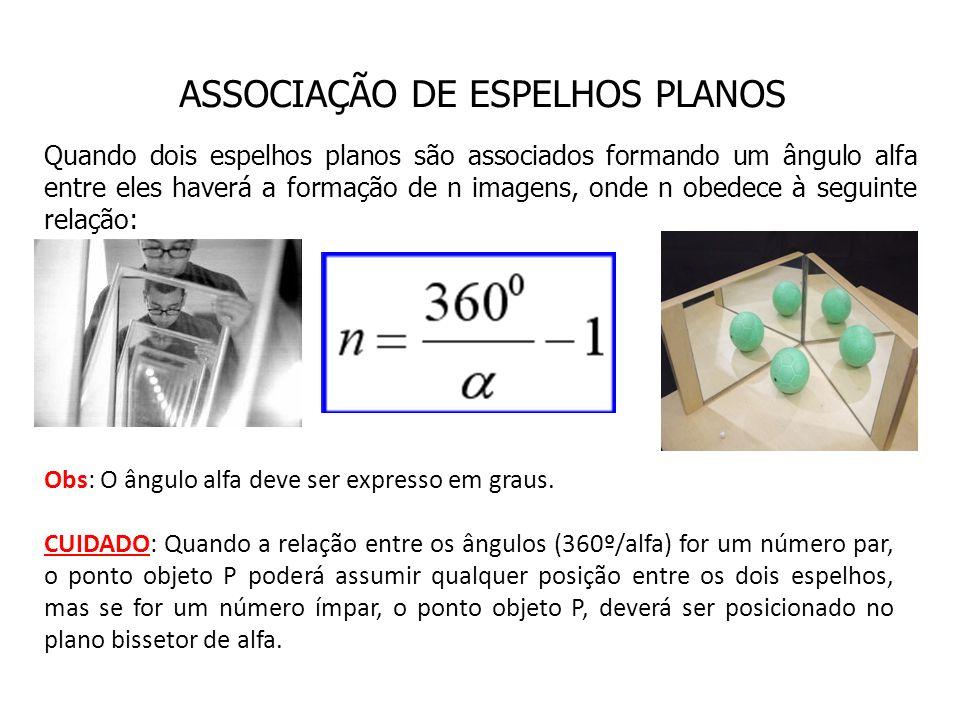 Obs: O ângulo alfa deve ser expresso em graus.