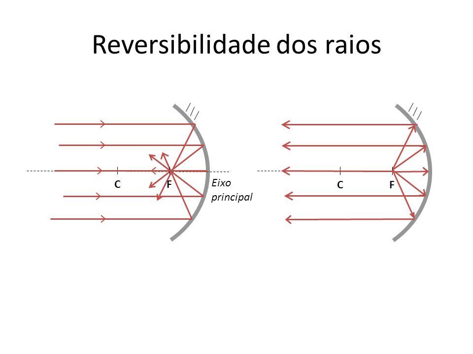 Reversibilidade dos raios