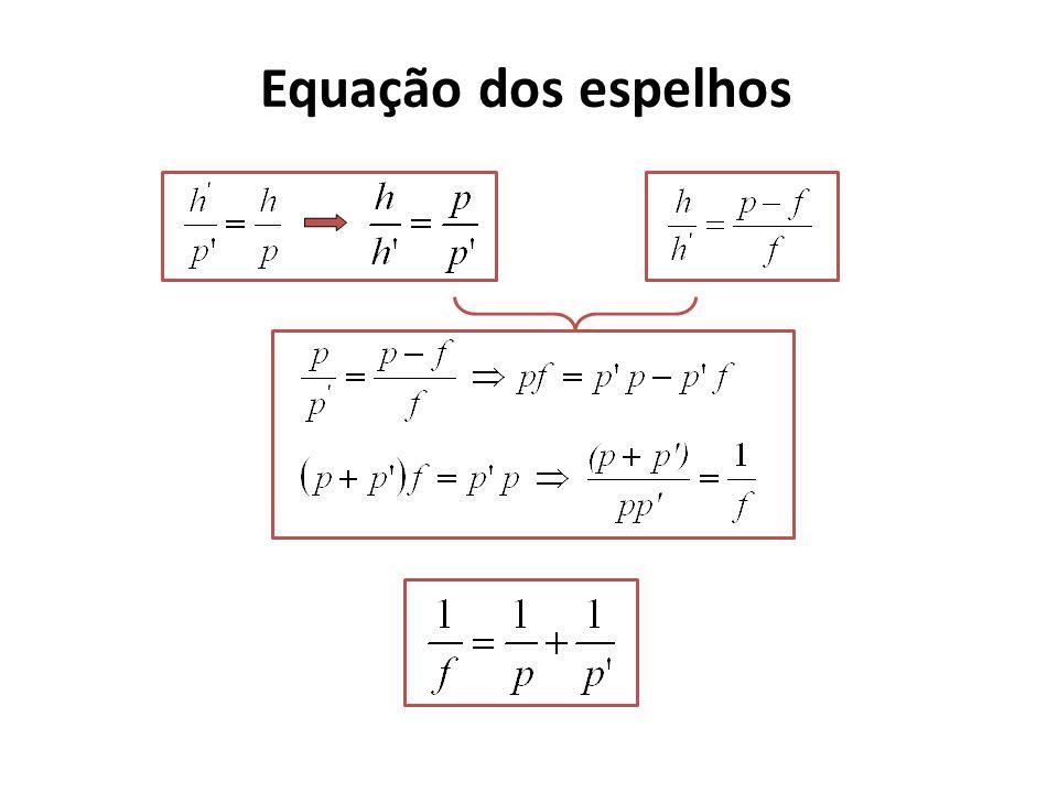 Equação dos espelhos