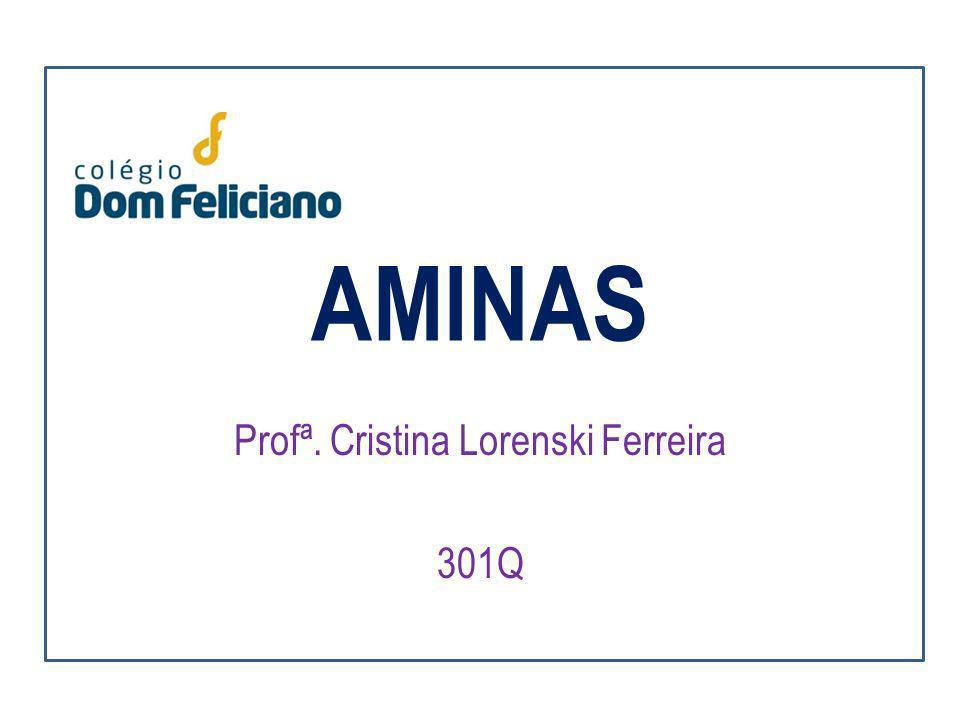 Profª. Cristina Lorenski Ferreira 301Q
