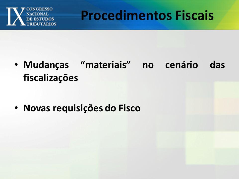 Procedimentos Fiscais
