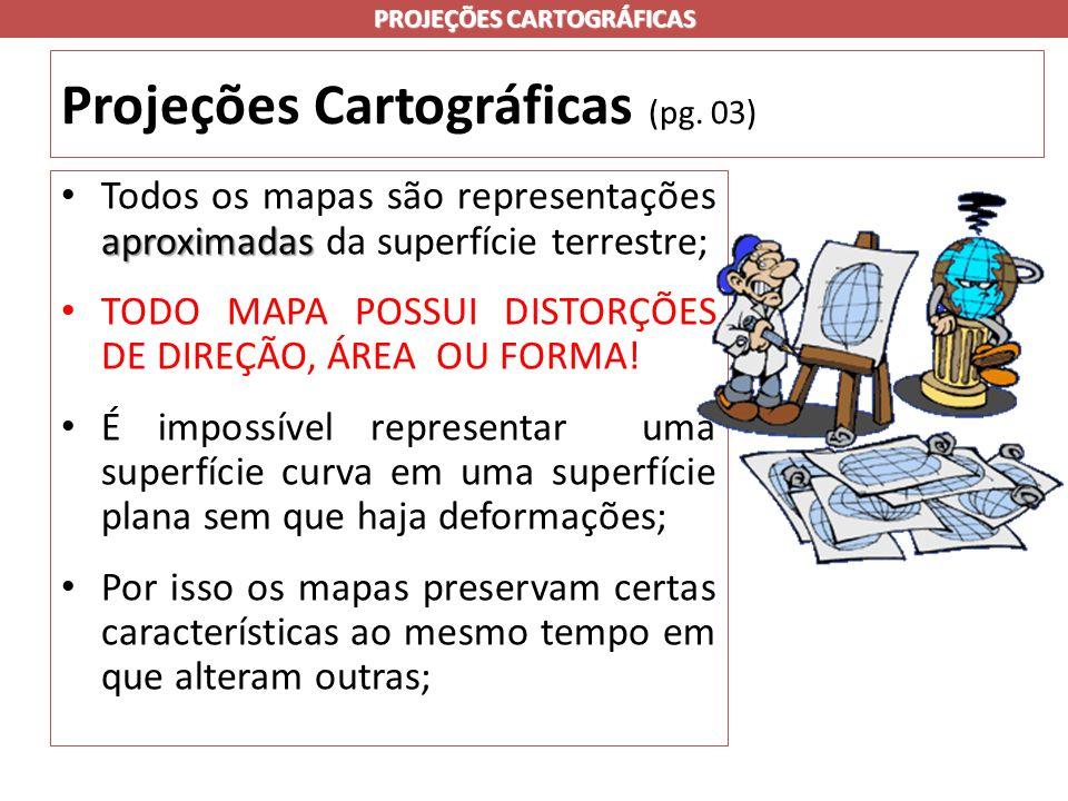 Projeções Cartográficas (pg. 03)
