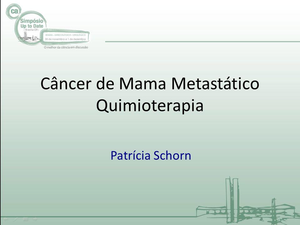 Câncer de Mama Metastático Quimioterapia