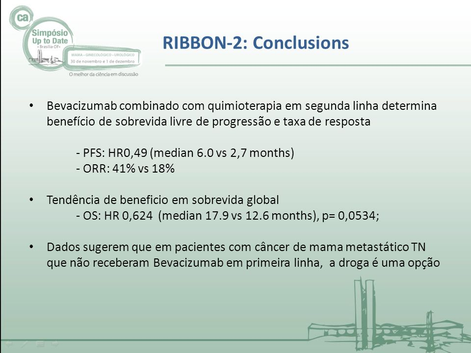 RIBBON-2: Conclusions