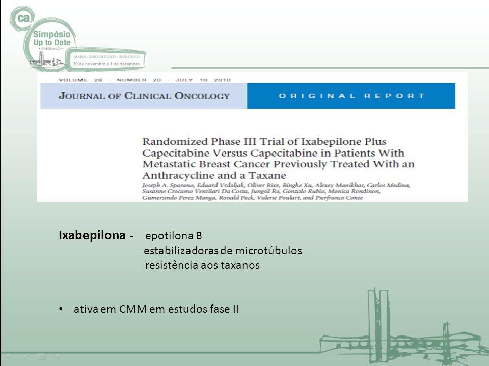 Ixabepilona - epotilona B