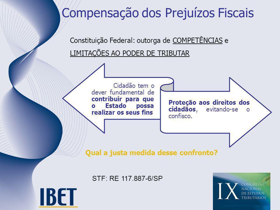 Compensação dos Prejuízos Fiscais