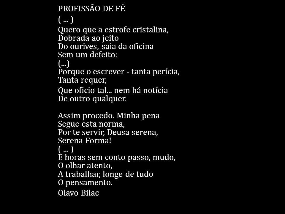 PROFISSÃO DE FÉ ( ...