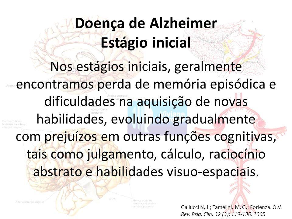Doença de Alzheimer Estágio inicial