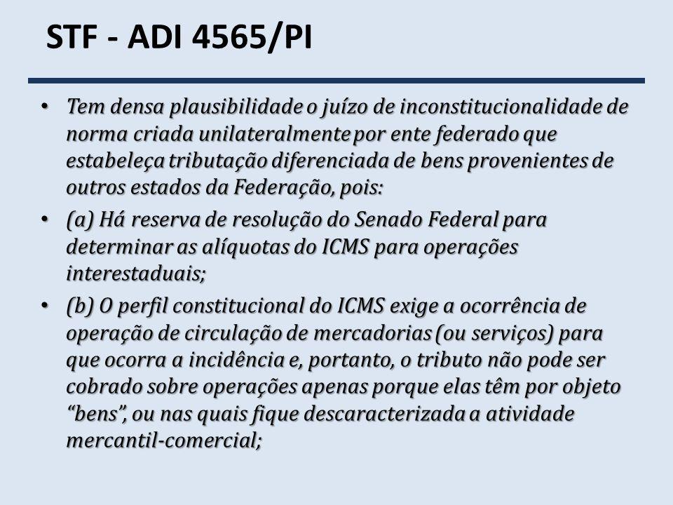 STF - ADI 4565/PI