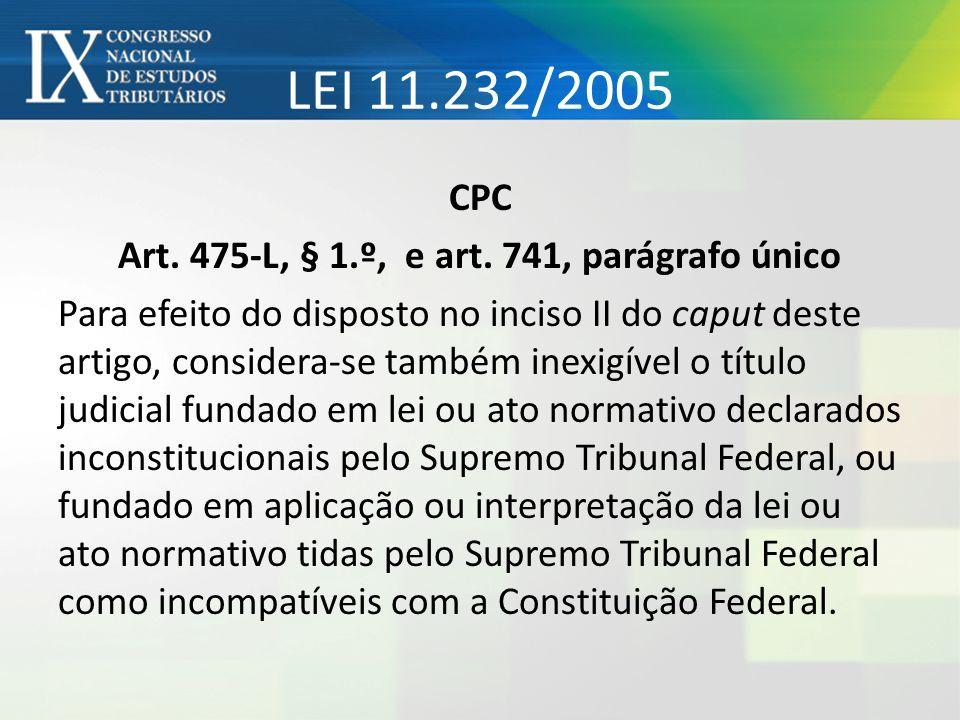 LEI 11.232/2005