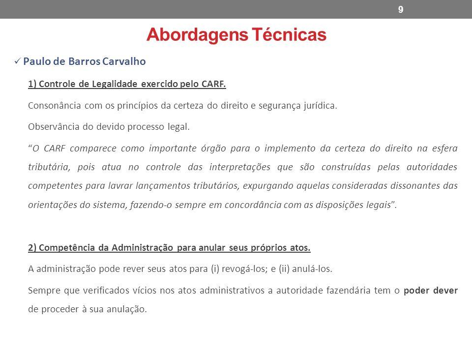 Abordagens Técnicas Paulo de Barros Carvalho